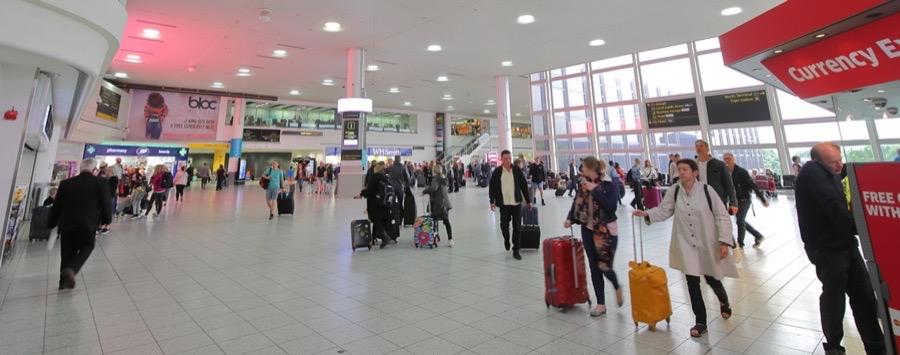 Service på flygplatsen